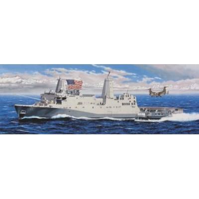 BUQUE ASALTO ANFIBIO LPD-21 U.S.S. NEW YORK 1/350 - MRC 64007