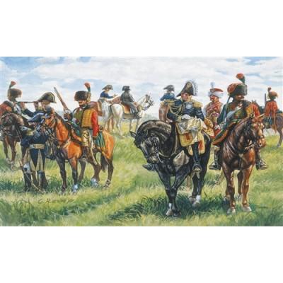 CUARTEL GENERAL NAPOLEONICO (21 figuras) 1/72