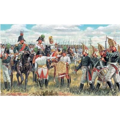 CUARTEL GENERAL ALIADO NAP.WAR ESCALA 1/72 39 MINIATURAS ITALERI 6037