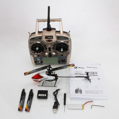 MICROHELICOPTERO POWER STAR - 6 CANALES- FLYBARLESS (DIAM. ROTOR PRINCIPAL 245MM)