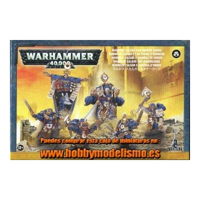 SPACE MARINES MARNEUS CALGAR Y GUARDIA DE HONOR