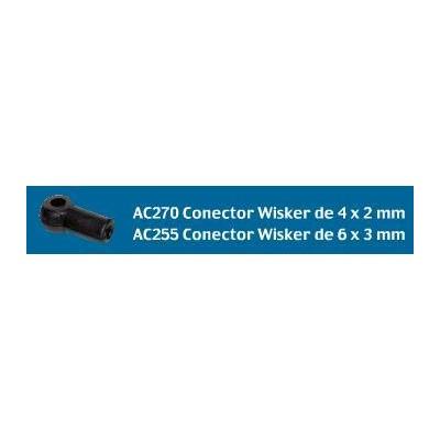 CONECTOR WISKER (6 UNIDADES)