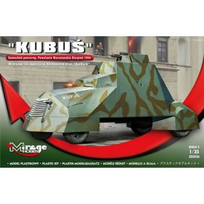CAMION BLINDADO KUBUS (Varsovia 1944) - Mirage Hobby 355026