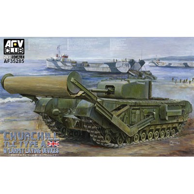 CARRO DE COMBATE CHURCHILL -TLC TYPE A- AFV Club AF35285
