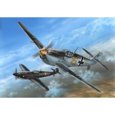 HISPANO AVIACION HA-1112 M-1L BUCHON Batalla de Inglaterra