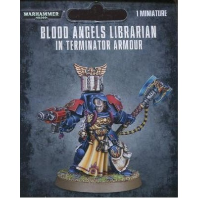 BLOOD ANGELS BIBLIOTECARIO EXTERMINADOR