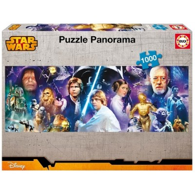 PUZZLE 1000 PZAS STAR WARS PANORAMA