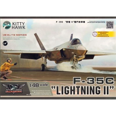 LOCKHEED MARTIN F-35 C LIGHTNING II -1/48- Kitty Hawk KH80132