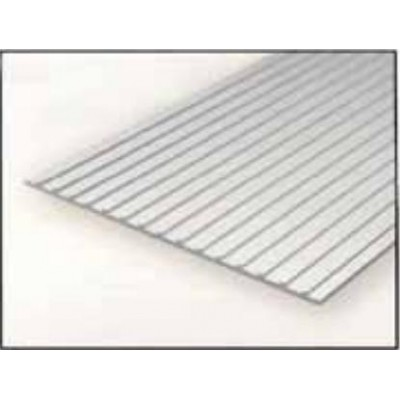 HOJA PLASTICO TECHO METALICO 1,0 mm Sep. 12,7 mm (300 x 150 mm)