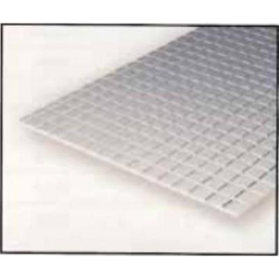 HOJA PLASTICO GRABADA-V 0,75 mm H0 COCHES VIAJEROS (300 x 150 mm)