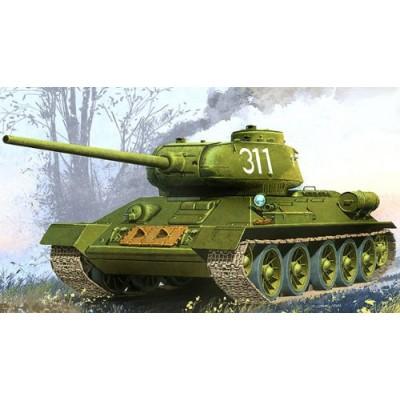 KIT CARRO DE COMBATE T-34/85 CONTROL REMOTO