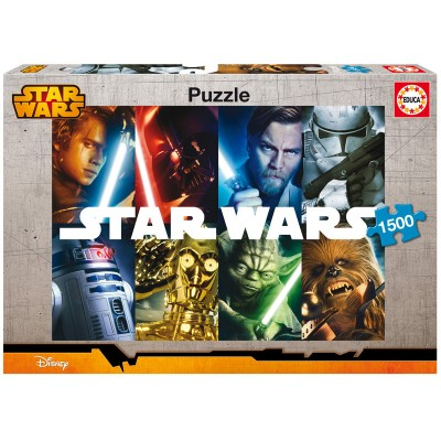 PUZZLE 1500 Pzas. STAR WARS