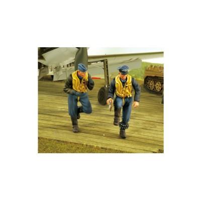 PILOTOS LUFTWAFFE TA-152 H1 (Resina) 1/32