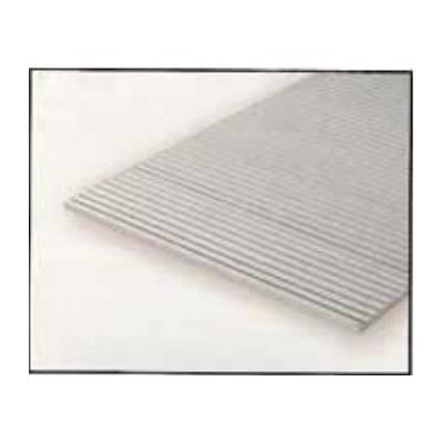 HOJA PLASTICO GRABADA-V 0,5 mm Sep. 1,3 mm (300 x 150 mm)