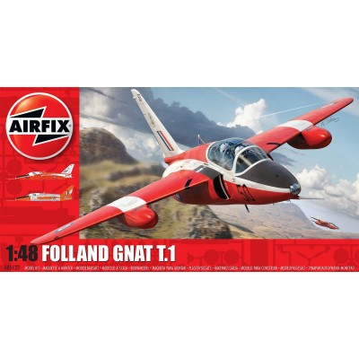 FOLLAND GNAT T.1 1/48 - Airfix A05123