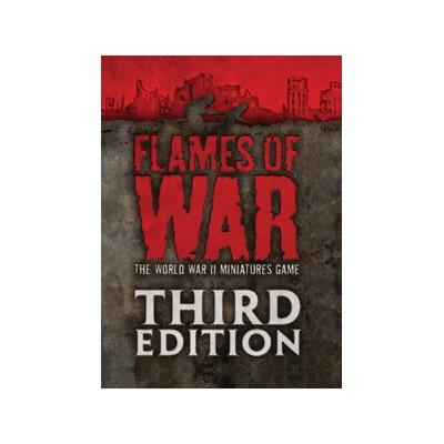LIBRO: FOW LIBRO DE REGLAS 3ª EDICION MINI Flames of War 005M