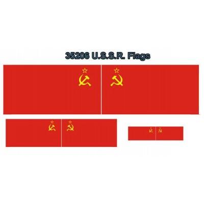 BANDERA: UNION SOVIETICA (U.R.S.S.)