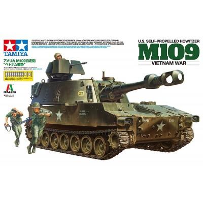 OBUS AUTOPROPULSADO M-109 (Guerra de Vietnam) - Tamiya 37013