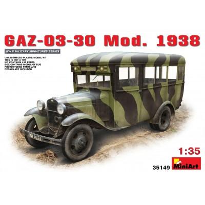 AUTOBUS GAZ-03030 Mod. 1938