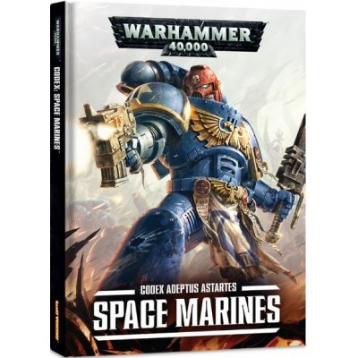 CODEX SPACE MARINES - Adeptus Astartes (INGLES)