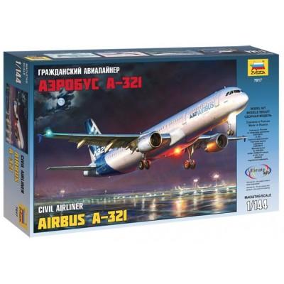 AIRBUS A321 - Zvezda 7017 - ESCALA 1/144