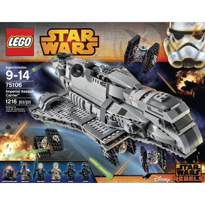 OFERTA STAR WARS: IMPERIAL ASSAULT CARRIER - Lego 75106