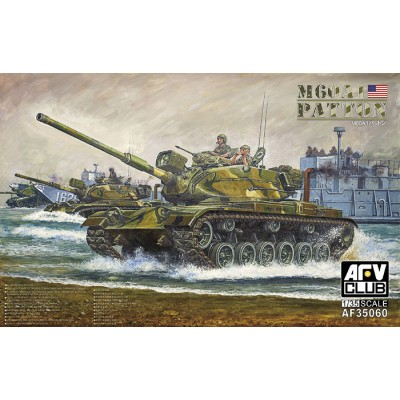 CARRO DE COMBATE M-60 A1 PATTON 1/35 - AFV Club AF35060