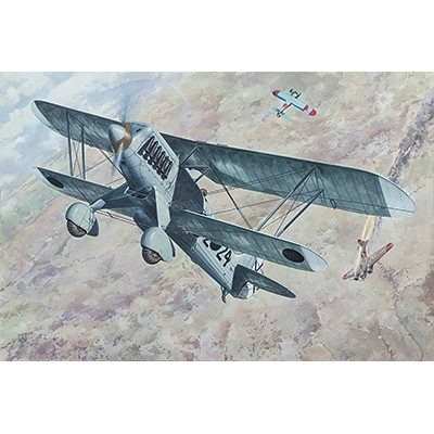 HEINKEL HE-51 B.1 C/ESP