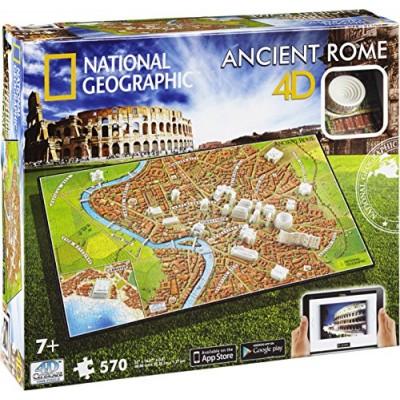 PUZZLE 4D: ANTIGUA ROMA (600 piezas)