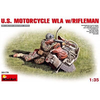 MOTOCICLETA U.S. WLA & TIRADOR