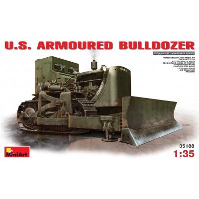 BULLDOZER BLINDADO U.S. ARMY