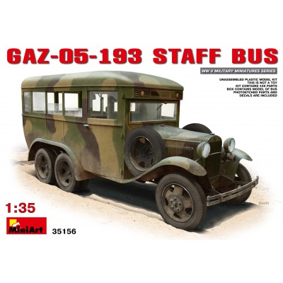 AUTOBUS MILITAR GAZ-05-193