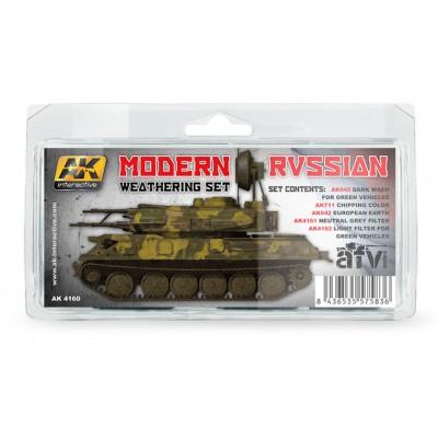 WEATHERING SET: MODERN RUSSIAN (5 botes)