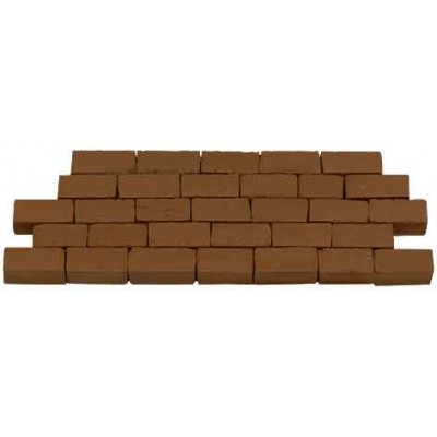 MURO PIEDRA ROJA S/escala (300 unidades)