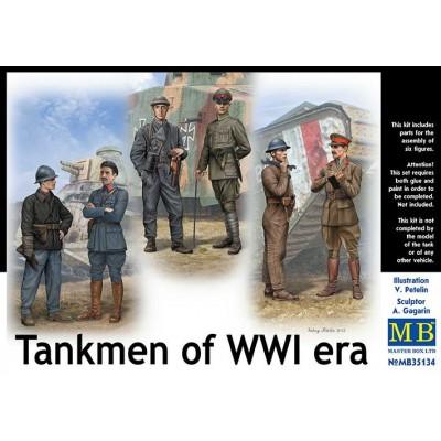 TRIPULANTES DE CARRO 1ª Guerra Mundial