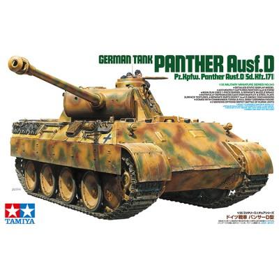 CARRO DE COMBATE SD.KFZ. 171 Ausf. D PANTHER