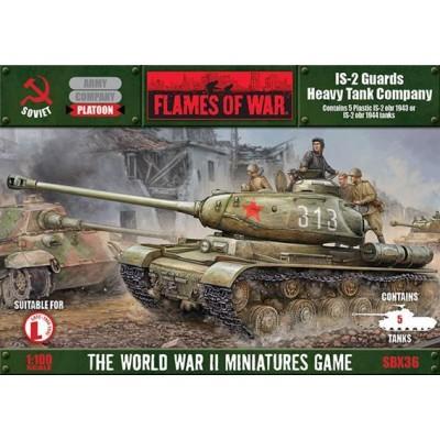CARROS DE COMBATE IS-2 (5 unidades) Flames of War SBX36