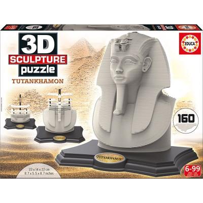 PUZZLE SCULTURE 3D 160 pzas. TUTANKHAMON