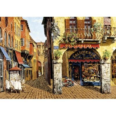 PUZZLE 1500 pzas. COLORS OF ITALY - SALUMERIA, Viktor Shvaiko