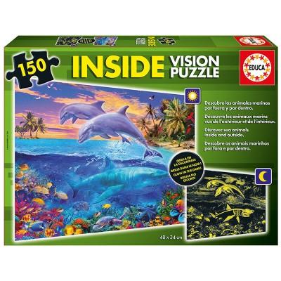 PUZZLE INSIDE VISION DELFINES 150 PZS