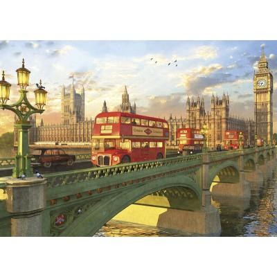 PUZZLE 2000 pzas. PUENTE DE WESTMINSTER, LONDRES