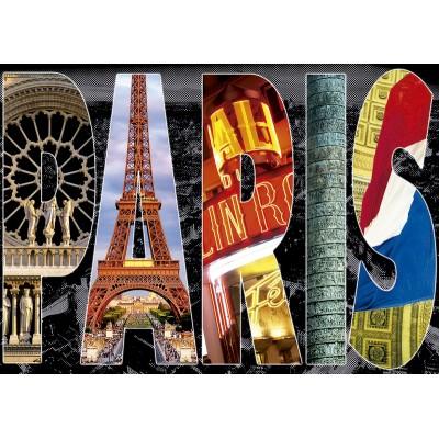 PUZZLE 1000 pzas. COLLAGE DE PARIS