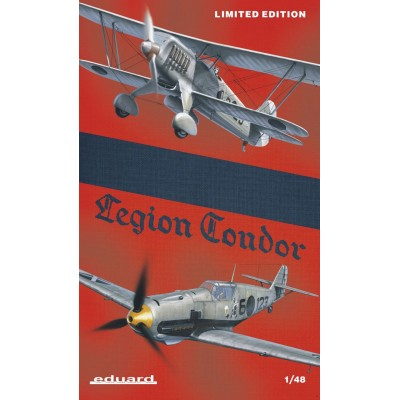 SET LEGION CONDOR (Heinkel He-51 & Messerschmitt Bf-109 E) C/ESP