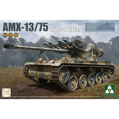 CARRO DE COMBATE AMX-13/75 & MISILES SS-11