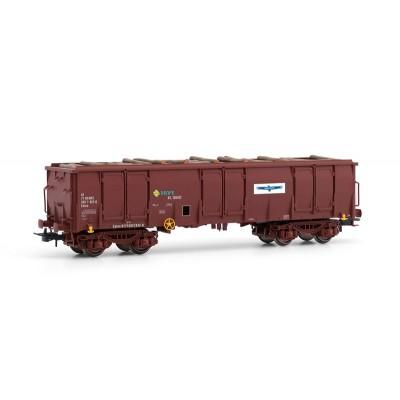 VAGON EALOS, RENFE - TORRAS PAPEL - Ep. IV (carga de troncos)