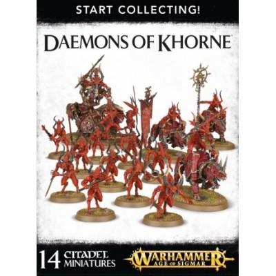 DEAMONS OF KHORNE START COLLECTING