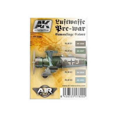 AIR series: LUFTWAFFE PRE-WAR (4 botes)