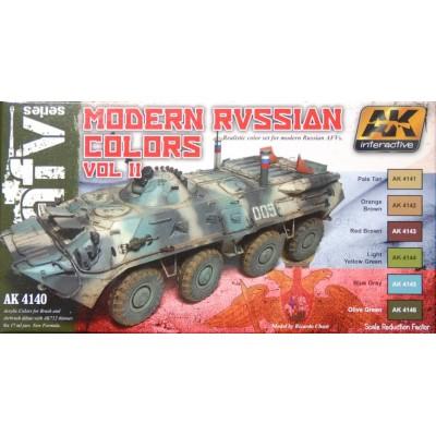 AFV series: MODERN RUSSIAN COLORS Vol. II