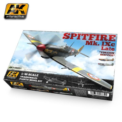 SUPERMARINE SPITFIRE MK-IXc Late - Foreing service