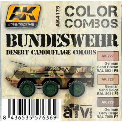 AFV series: BUNDESWEHR DESERT CAMOUFLAGE COLORS